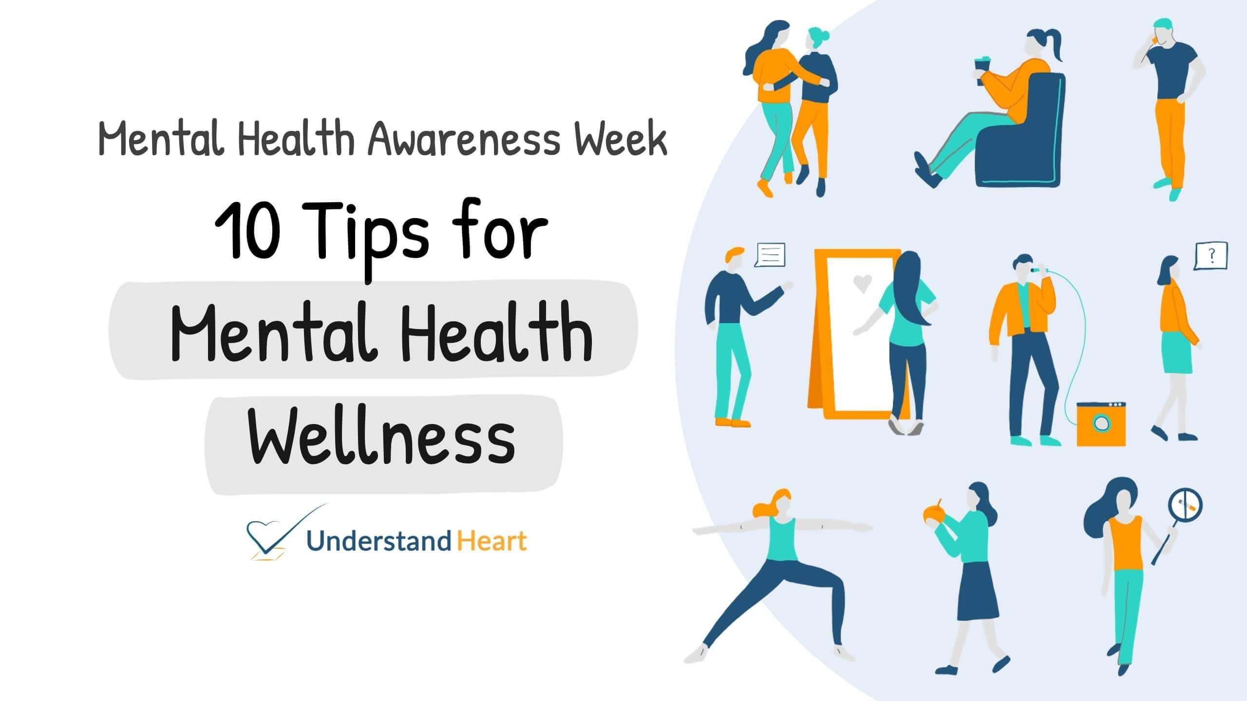 Mental Health Wellbeing Tips | Mental Health Awareness Week