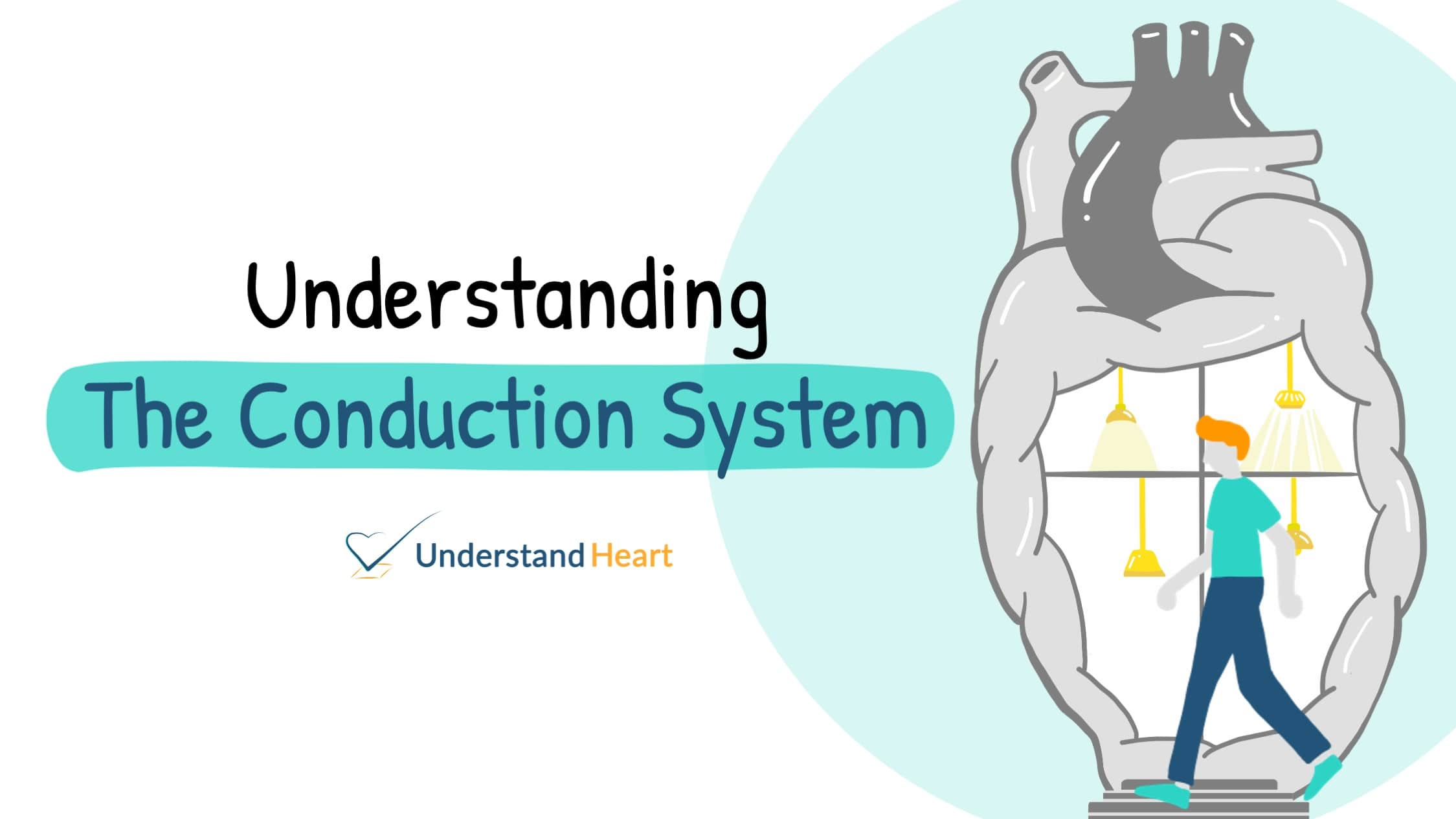 Understanding the conduction system | Using light switches as analogy!